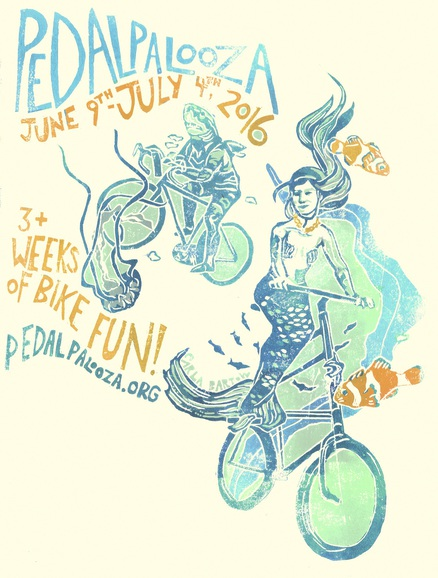Pedalpalooza 2016, June 9th-July 4th
